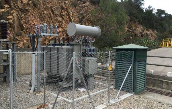 Montage transformador de potencia – CH Boadella